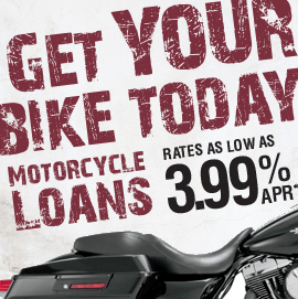 Motorcycle Loans at Community First Credit Union in Ashtabula County, Ohio