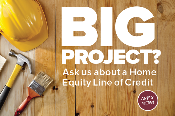 Get a home equity line of credit at Community First Credit Union in Ashtabula, Ohio