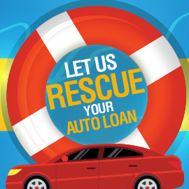 Let us rescue your auto loan. Transfer your auto loan from another lender to Community First.
