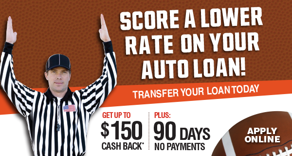 Score a better rate on your auto loan. Refinance today at Community First.